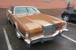 1976 American Lincoln Continental MK4 Mark IV BRONZE Not Dodge, Ford or Cadillac