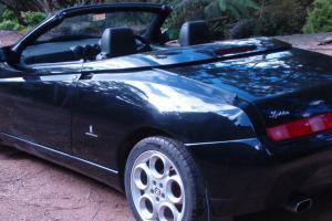 Alfa Spider 2004 3 2 V6 Black W Black Leather 59KKM VIC TAS Delivery 3 YR Warr