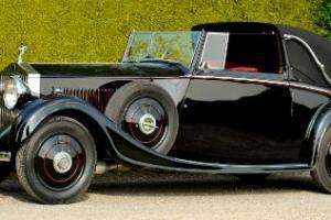 1934 Rolls Royce 20/25 HJ Mulliner Sedanca Coupe