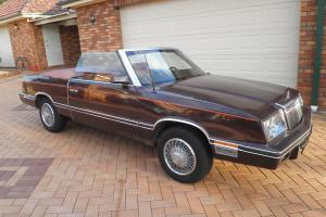 1982 Chrysler Lebaron Convertible Nice