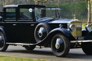 1929 Rolls Royce 20/25 Windovers Sedancalete.  Photo