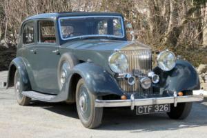 1937 Rolls-Royce 25/30 Cockshoot Saloon GLP29
