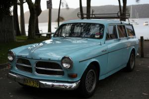 1963 Volvo 122 Amazon Wagon 122s Original Light Blue VW 1600 Holden FJ EK EJ EH  Photo