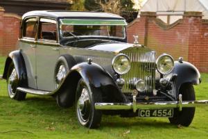 1933 Rolls Royce Phantom II continental Sports Saloon