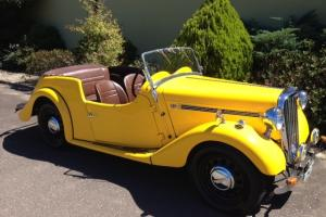 1949 4A Singer Roadster  Photo