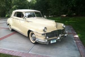 ORIGINAL 1947 Chrysler Windsor Convertible