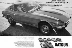 1978 Datsun 280Z sport ZED coupe (240Z, 240SX, 260Z, Nissan 350Z, 370Z)