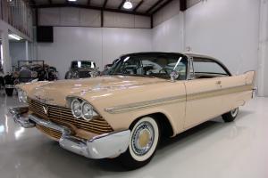 1958 PLYMOUTH FURY 2-DOOR HARDTOP, 350 CI GOLDEN COMMANDO DUAL QUAD V8/305 HP!