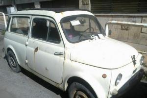 1972 FIAT 500 GIARDINIERA ESTATE SUICIDE DOORS ALL ORIGINAL FOR RESTORATION