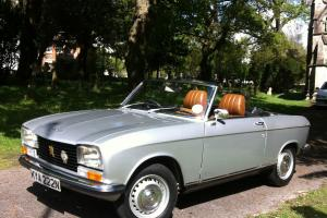 a stunning 1975 Peugeot 304s Cabriolet only 1500 miles covered in 17 years Photo