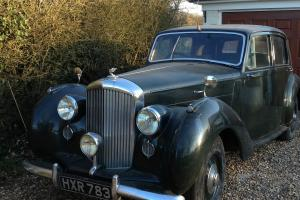 Barn Find 1947 Bentley MkVI 86th Car Built Restoration Velvet Green Brown Int
