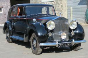 1947 Rolls-Royce Silver Wraith Park Ward Saloon WVA48