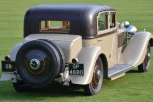 1931 Rolls Royce Phantom II Continental.  Photo