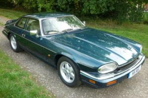 Jaguar XJS 4.0 Coupe Auto, 1993 'L' in Blue Metallic / Beige Leather