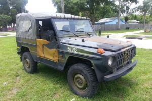 gelande wagen 4x4 wd diesel rare ex military army 1986
