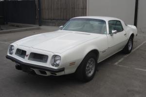 1975 Pontiac Firebird Coupe Maching 350V8 Auto P Steering D Brakes Build Sheet