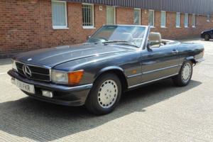 1989 F Mercedes-Benz 420 SL V8 grey auto petrol