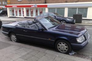 Mercedes-Benz E 220 CABRIOLET CONVERTIBLE 1994 PRIVATE PLATE AUTOMATIC