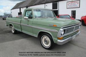 1970 FORD F100 360CI AUTO PICKUP 37,000 MILES, 2 PREVIOUS OWNERS