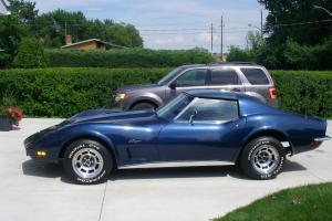 Chevrolet : Corvette Blue