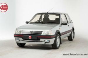 FOR SALE: Peugeot 205 1.6 GTi