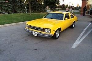 Chevrolet : Nova Coupe