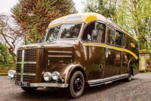 1950 Bedford OB Motor Home Photo