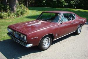 Plymouth : Barracuda formula s