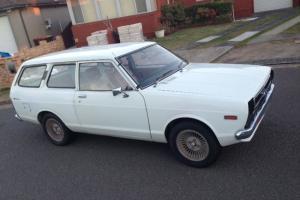 Super Rare Datsun Nissan Sunny Wagon 2 Door Coupe Manual Bargain in Sans Souci, NSW