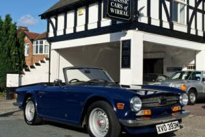 1973 Triumph TR6 2.5 Pi ROADSTER - ORIGINAL UK RHD CAR