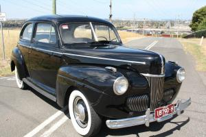 1941 Ford Sedan V8 Classic Cruiser 2 Door Sloper HOT ROD Original Tudor in Hamlyn Heights, VIC