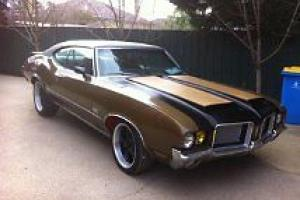 BIG Block Muscle CAR Oldsmobile Similar TO Chevelle 442 Mock UP RHD in University Of Melbourne, VIC