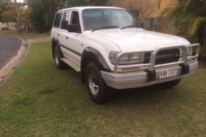 Toyota Landcruiser GXL 4x4 1993 4D Wagon T BAR Auto LPG Petrol