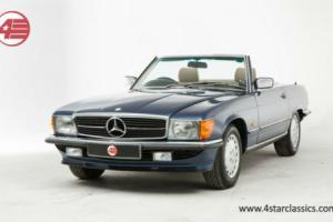 Mercedes-Benz R107 300SL with only 32k miles.