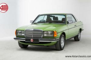 Mercedes-Benz 280CE 123, only 56k miles and ultra rare air-conditioning option.