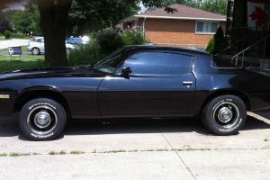 Chevrolet : Camaro Black Photo