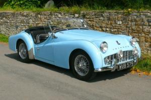 Triumph TR3A Photo