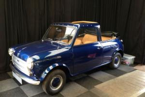 MINI CONVERTIBLE STUNNING BLUE 1978 NUT AND BOLT RESTORATION CLASSIC