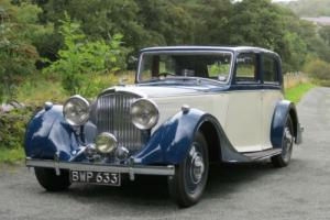 1938 Bentley 4 1/4 Ltr Park Ward Pillarless Saloon