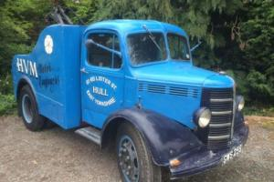 Bedford K type recovery truck 1946 3 owners