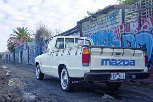 Classic Retro Mazda UTE B2000 MILD Custom Ratrod OLD School Rebuilt Hotrod in Pascoe Vale, VIC Photo