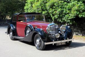 1938 Bentley 4 1/4 O'drive James Young Brougham de Ville B38MR