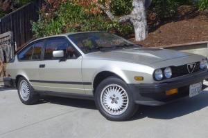 California GTV6 sunroof 86K, original condition