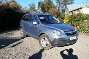 Holden Captiva CG MY10 5 Wagon 4D SA 5 SP Auto 4x4 3 2L Multi Point V6 in Kyneton, VIC