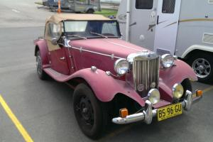 MG TD Replica Based ON 1968 Beetle NO Reserve Photo