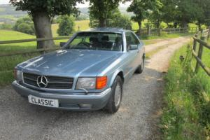 1989 Mercedes-Benz 560 sec blue