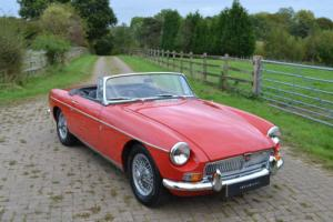 1970 MGB Roadster Photo