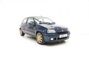 An Exceptional Renault Clio Williams 2 with Only 55,113 Miles from New.