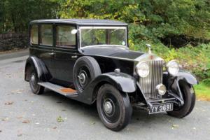 1932 Rolls-Royce 20/25 Hooper Limousine GMU54 Photo