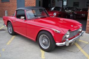 1966 Triumph TR4A IRS Surrey Top - Fully restored matching numbers